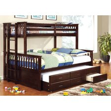 Emmerson Twin Over Queen Standard Bunk Bed