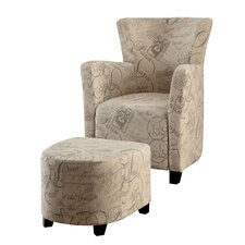 Haven Chair and Ottoman