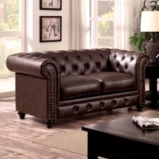 Cedric Tufted Loveseat