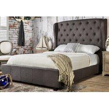 Florenza Wingback Platform Bed