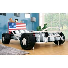 American Pride Twin Race Car Bed