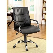 Blake High-Back Leatherette Executive Chair with Arms