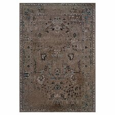 Renaissance Overdyed Grey & Black Area Rug