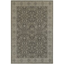 Paula Traditional Grey/Ivory Area Rug