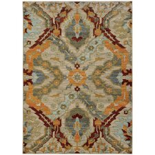 Agave Overscale Traditional Beige/Orange Area Rug