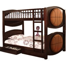 All-star Twin Over Twin Bunk Bed
