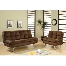 Brooks Convertible Sofa and Chair Set