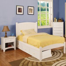 Caren Storage Panel Customizable Bedroom Set