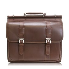 Manarola Signorini Leather Laptop Briefcase