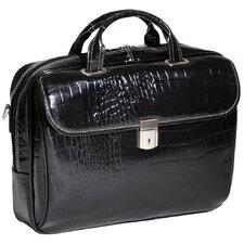 Monterosso Settembre Leather Laptop Briefcase