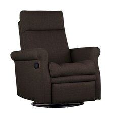 Polyester Occasional Swivel Armachair Recliner