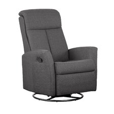 Push Button Recline, Glider and Swivel Arm Chair