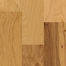 "Jubilee 5"" Engineered Hickory Hardwood Flooring in Honey Spice"