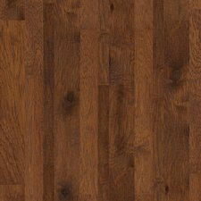 Hudson Bay Random Width Engineered Hickory Hardwood Flooring in Schoolhouse