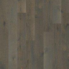 "Castlewood 7-1/2"" Engineered White Oak Hardwood Flooring in Hearth"