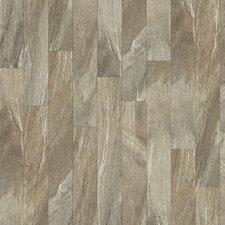 "Floorte Classico 6"" x 48"" Enhanced Vinyl Plank in Grigio"