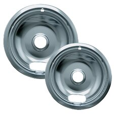 2 Piece Wall Oven and Cooktop Style A Drip Pan Set (Set of 2)