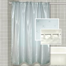 Serene Mist All-in-One Shower Curtain
