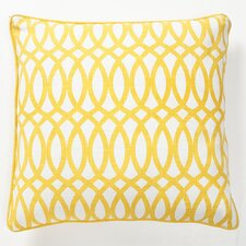Fields Ellipse Cotton Throw Pillow
