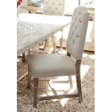 Ericka Tufted Side Chair in Camel