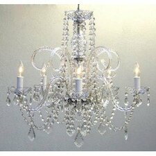 5 Light Crystal Chandelier