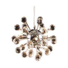 Modern 6 Light Crystal Chandelier