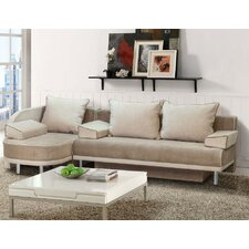 Bali Sectional with Sleeper and Storage