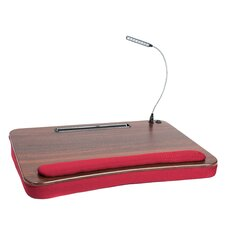 Sofia + Sam Oversized Memory Foam Lap Desk with USB Light and Tablet Slot