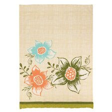 Park Flowers Large Floral Kitchen Towel