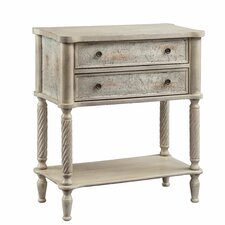 Bellamy 2 Drawer Side Table