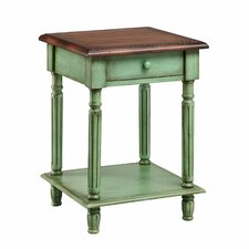 Emeric 1 Drawer End Table