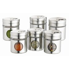 Home Made Spice Jar (Set of 6)