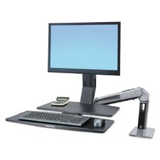 WorkFit-A Sit-Stand Workstation Desk Mount