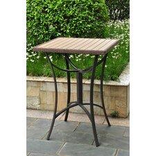 Barcelona Wicker Resin/Aluminum Patio Table