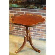 Windsor Hand Carved Wooden End Table