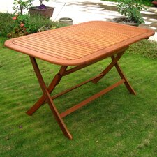 Royal Tahiti Balau Outdoor Folding Dining Table