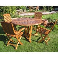 Royal Tahiti Marbella 5 Piece Dining Set
