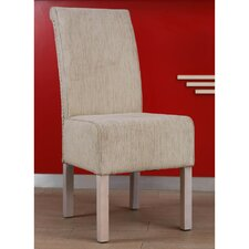 Philip Upholstered Mahogany Dining Chair
