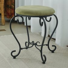 Cambridge Round Iron Vanity Stool