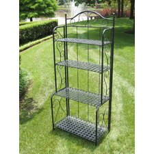 Mandalay 4 Tier Indoor/Outdoor Bakers Rack