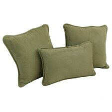 3 Piece Throw Pillow Set