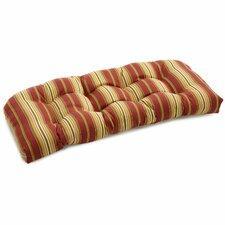 Patio Outdoor Loveseat Cushion