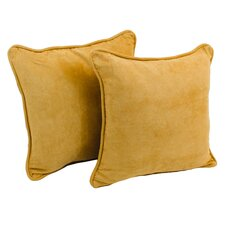 Package Microsuede Throw Pillow (Set of 2)