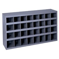 "19.25"" H x 33.75"" W x 12"" D Opening Parts Bin Cabinet"