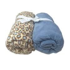 Microplush Fitted Crib Sheet (Set of 2)