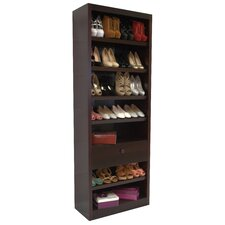 Shoe Rack with Drawer