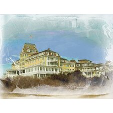 Rhode Island Ocean House - Watch Hill Wrapped Photographic Print on Canvas