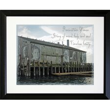Cape Cod Provincetown Women Framed Photographic Print