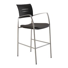 Octiv Stool with Fabric Seat