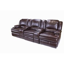Jaleco Home Theater Reclining Sofa